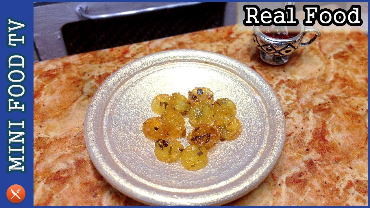 Patatine Fritte miniatura! Vera cucina Food!   Piccolo show ...