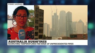 """Australia Bushfires: """"right Now, Sydney Is Surrounded By A Ring Of Fire"""""""