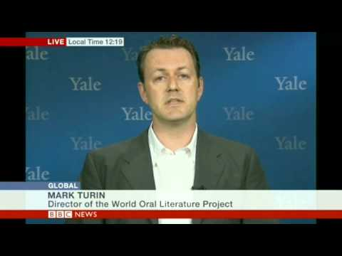 BBC World TV interview June 2013 Endangered Languages