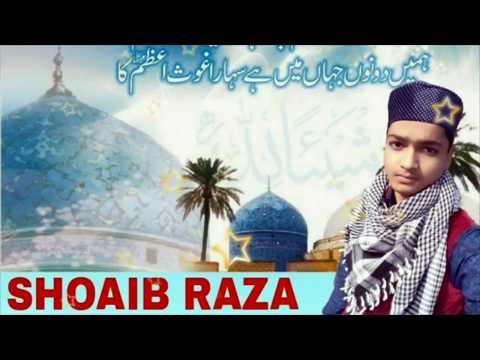 Qalam-E-Gaus-E-Azam II SHOAIB RAZA BAREILVI II 2018