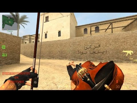 Funny Weapons SKINS Of Counter-Strike: Source 🔫
