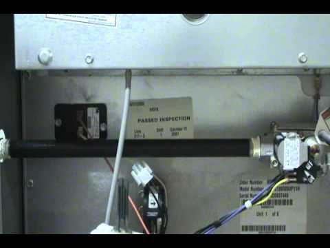Gas Furnace Ignitor Replacement Wmv Youtube
