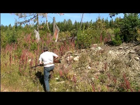 Grouse Hunting In The Hills Of British Columbia