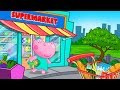 Hippo 🌼 Funny Supermarket - Shopping for all Family 🌼Cartoon game for kids