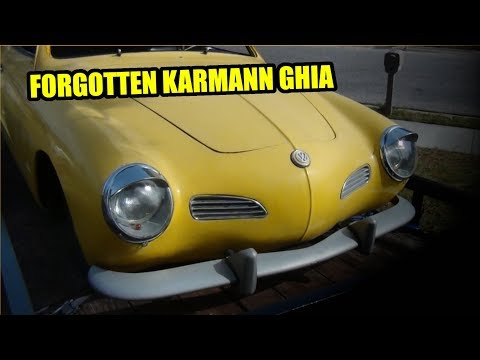 Forgotten 1971 VW Karmann Ghia