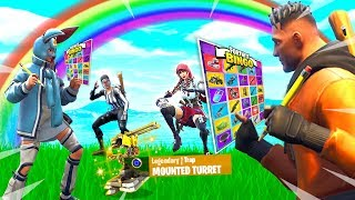 FORTNITE 2v2 RAINBOW BATTLE BINGO CHALLENGE!