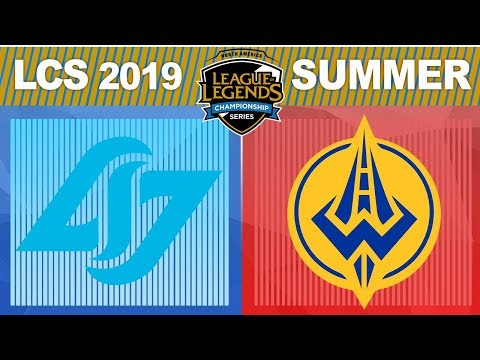 CLG vs GGS - LCS 2019 Summer Split Week 6 Day 2 - Counter Logic Gaming vs Golden Guardians