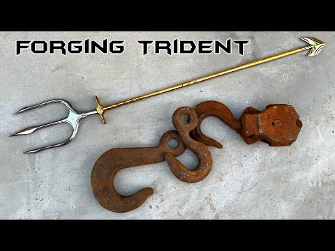 Forging POSEIDON'S TRIDENT Out of Rusty Hook