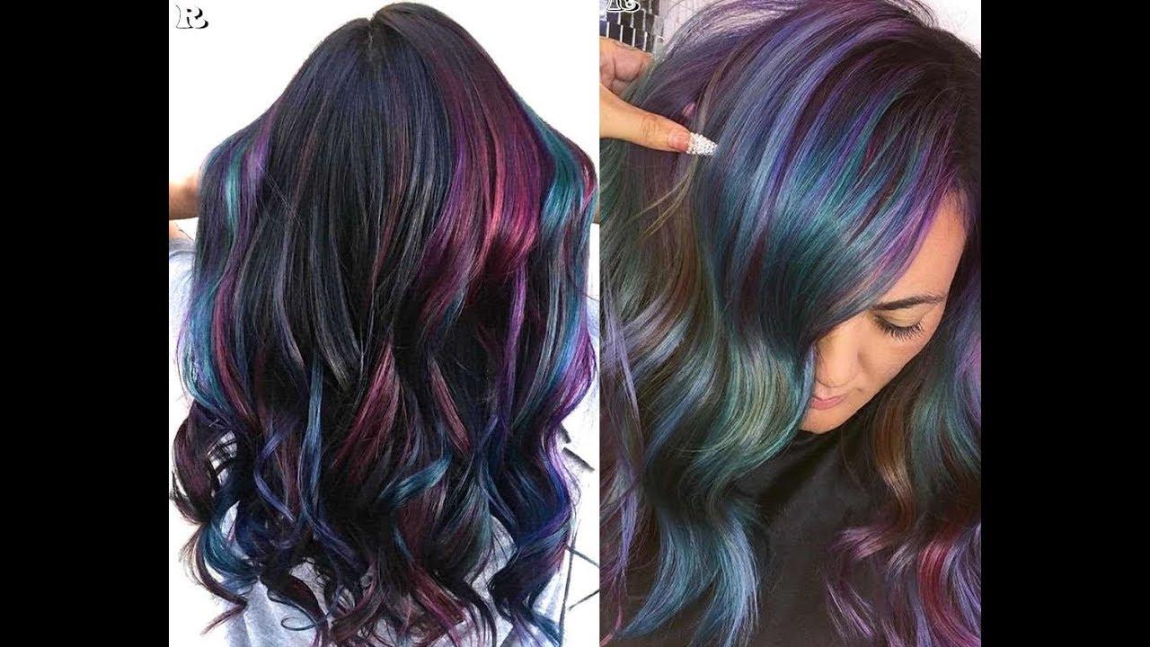 oil slick hair dye