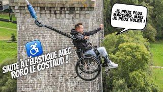 Un tétraplégique qui saute à l'élastique c'est magique !!! - YouTube