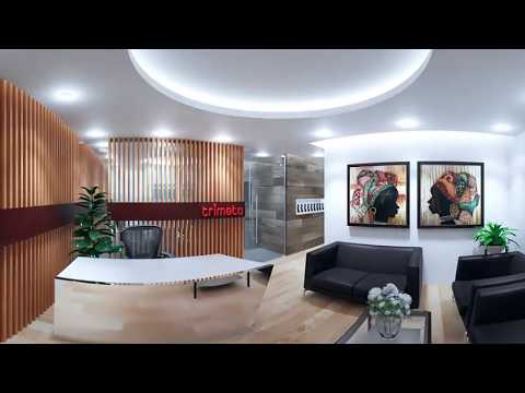 360 Virtual Tour of a 3D CGI Office