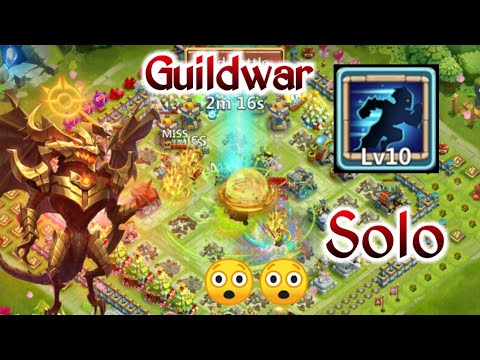 Guildwar | Zephryica | 10/10 Stealth | Solo Guildwar | Monster | Vs 1 Million Target | Castle Clash