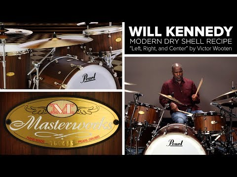 Pearl Masterworks Sonic Select Shell Recipe: MODERN DRY