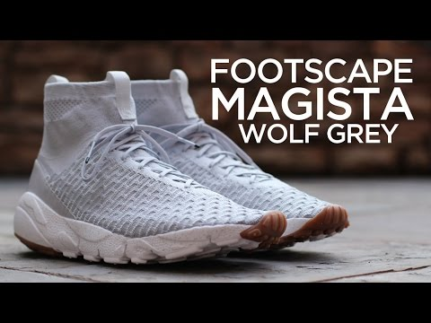 20b764bf5ab9 Closer Look  Nike Air Footscape Magista SP - Wolf Grey - YouTube