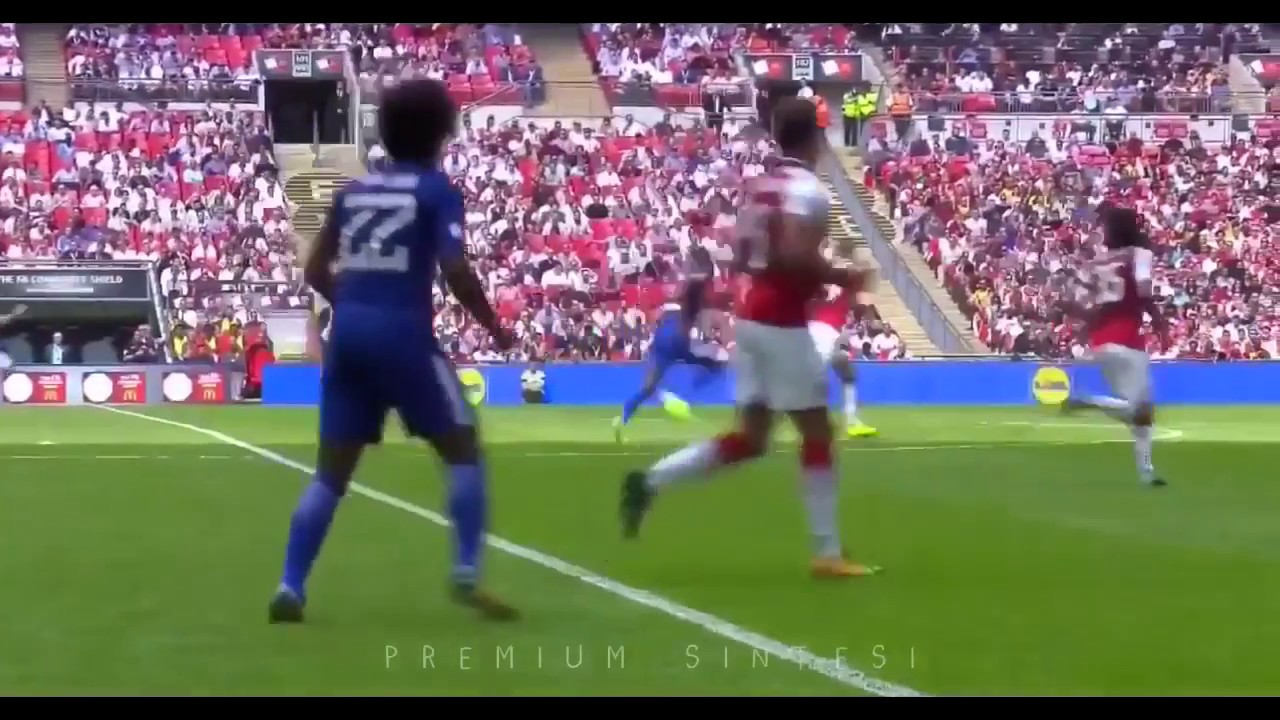 Download Arsenal vs Chelsea 1-1 (4-1) - All Goals & Highlights - 6/08/2017 HD
