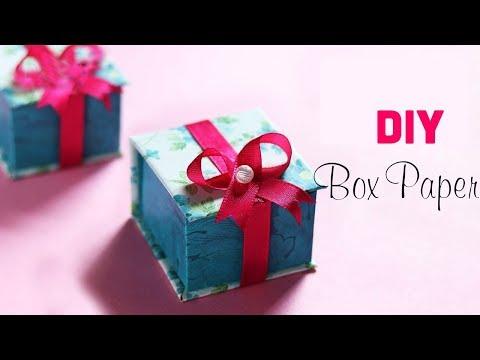 Hướng dẫn làm hộp quà tặng cực xinh | DIY Gift Box Ideas | Gift Ideas | Paper Craft