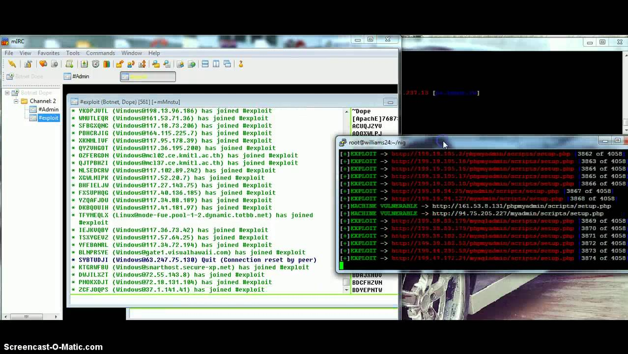 Botnet 0day Exploit - YouTube