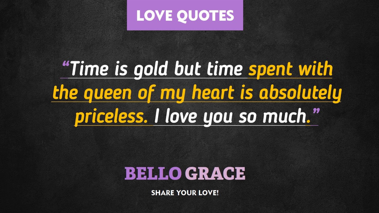 Best Love Quotes Queen Of My Heart Youtube