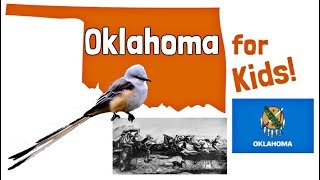 Oklahoma for Kids | US States Learning Video
