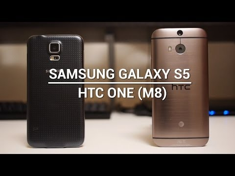 The 5 reasons One (M8) is better than the Galaxy S5, according to HTC
