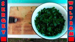 Вкусный Салат из Травы(Delicious salad)