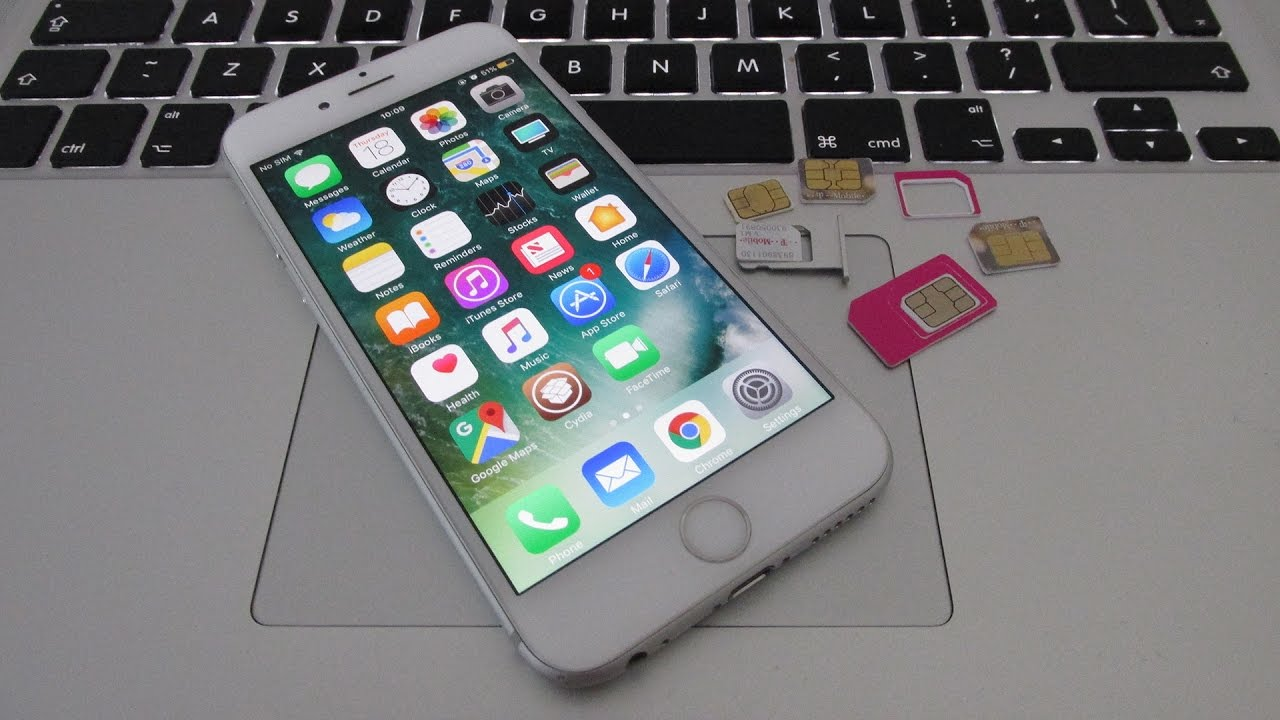 unlock iphone with itunes without sim