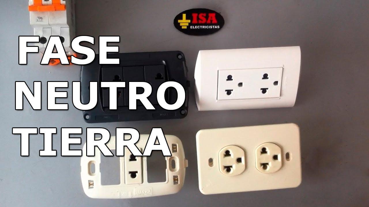 110 House Wiring C 243 Mo Conectar Fase Neutro Y Tierra En Tomacorrientes