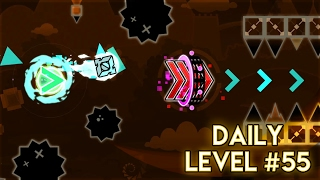 "(0.01 MB) DAILY LEVEL #55 | Geometry Dash 2.1 - ""Dinosaur"" by Alkali 