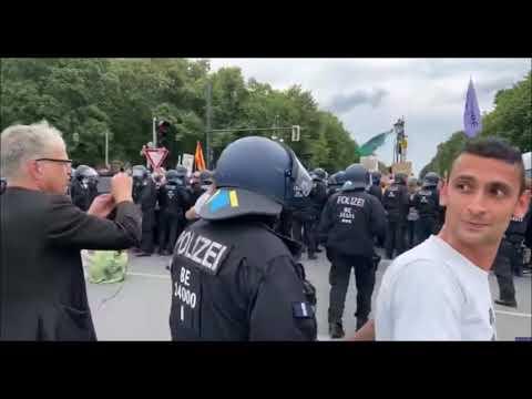 Dokumentation Polizeigewalt der Demos vom 29. und 30.8.2020