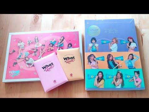"""트와이스 (TWICE) 5th Mini Album """"What Is Love?"""" Unboxing"""