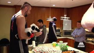 Out Of Bounds: Marcin Gortat Loves Chick-Fil-A