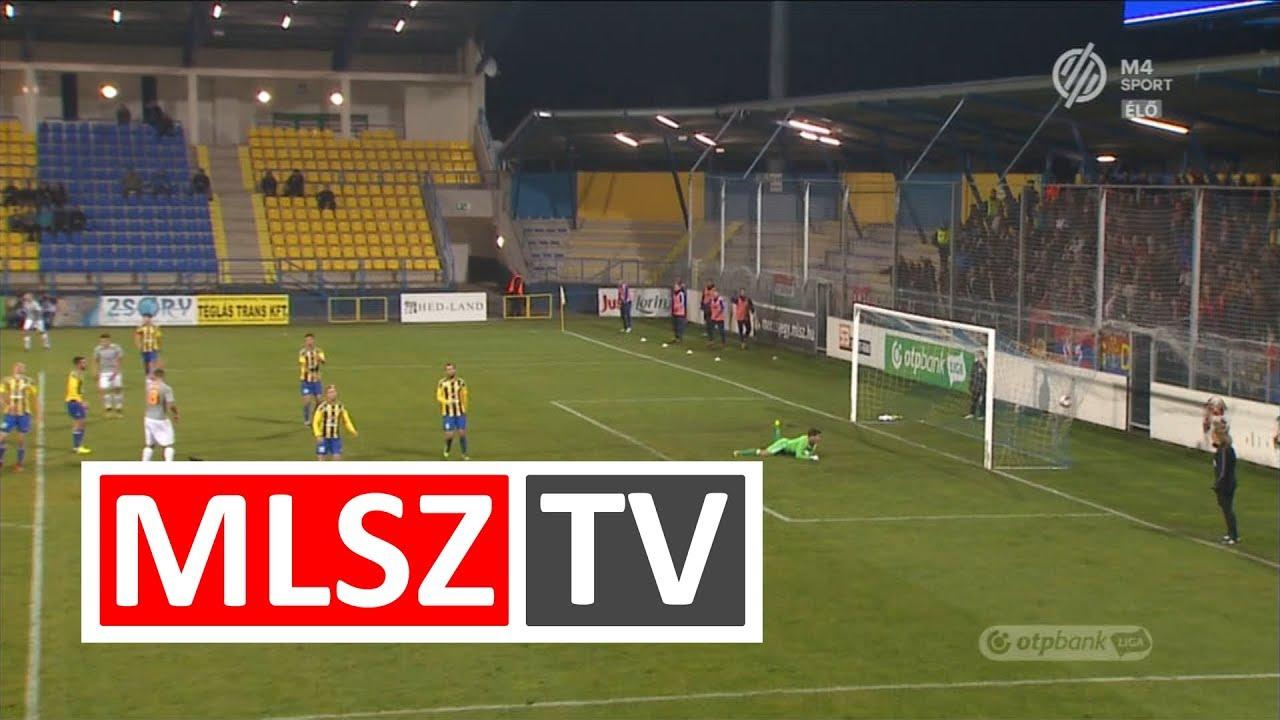 Koszta Márk harmadik gólja a Mezőkövesd Zsóry FC – Vasas FC mérkőzésen