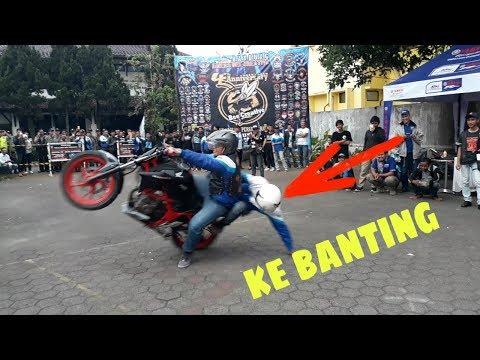Stuntshow Di Anniv Bikers Bee Creative XTC Indonesia