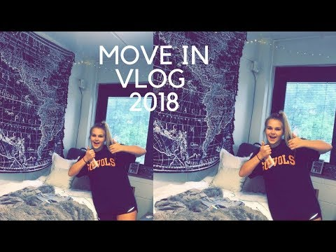 college move in vlog 2018 university of tennessee