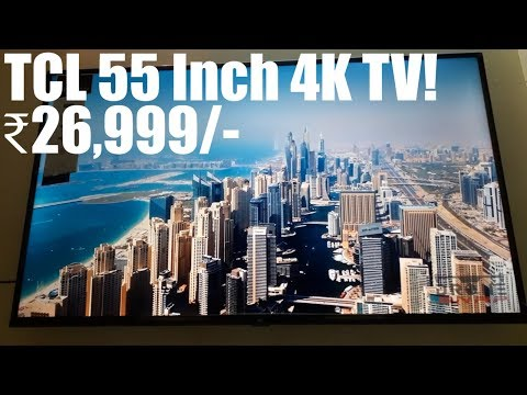 TCL 138.71 cm (55 inches) 4K Ultra HD Smart LED TV 55P65US-2019 (Black) | Built-In Alexa | Review