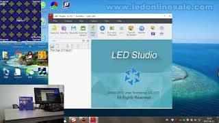 كيفية جعل P3 عرض LED وحدة العمل من قبل Novastar أدى البطاقة ؟