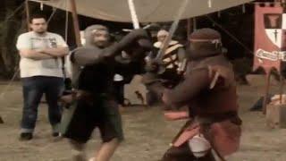 Antichi Popoli: Duelli medievali a Medioevo a Igneus, Badia a Settimo 2014