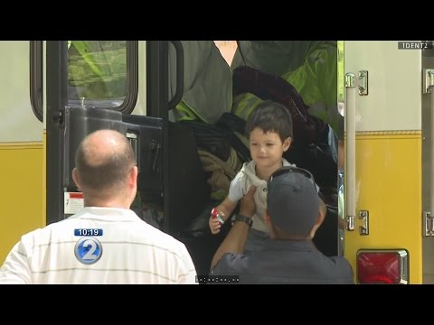 Honolulu firefighters kick off prevention week with family-fun event