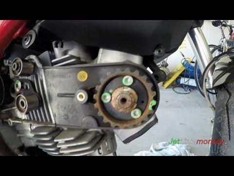 Ducati Monster 796,797,696,1100/Scrambler Timing Belt Replacement - YouTube   Hypermotard 796 Engine Diagram Valve      YouTube