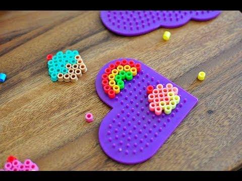 How To Melt Perler Beads Hama Beads Melty Beads Youtube