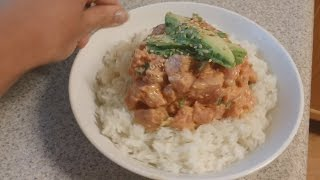 What's Cooking In Ashley's Kitchen?: Spicy Tuna Bowl