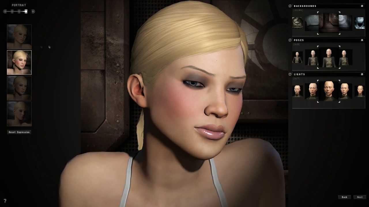Eve online character creation female minmatar 3d builder online
