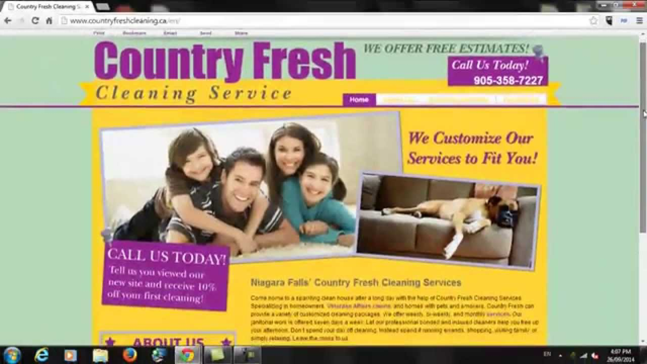 country fresh cleaning services review niagara falls country fresh cleaning services review niagara falls