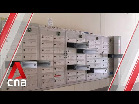 Letterboxes forced open across 9 HDB blocks in Singapore