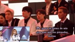 Download Video WINNER reaction to MAMAMOO YES I AM MBC GAYO DAEJUN Sub español MP3 3GP MP4