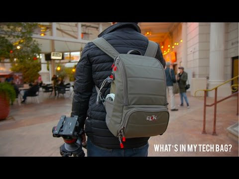 What's In My Tech Bag // CES 2017 Edition!