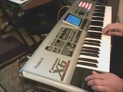 ROLAND FANTOM X6  NEW program  solo sounds ARMENIAN,ARABIC,