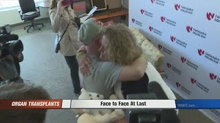 A gift shared: Family meets man who received boy's heart