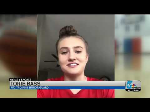 """FFC's Bass Brings Home News 5 Sports """"Assist Of The Year"""""""