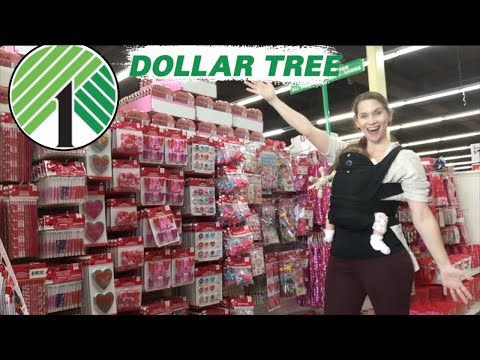 Dollar Tree Shop With Me Valentine's Day 2020!  Everything New At Dollar Tree!
